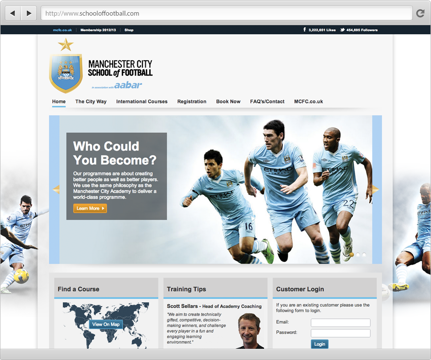 Manchester City Football Club - School of Football